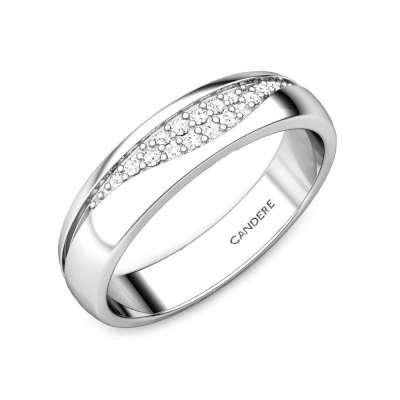 Dany Platinum Diamond Band For Her