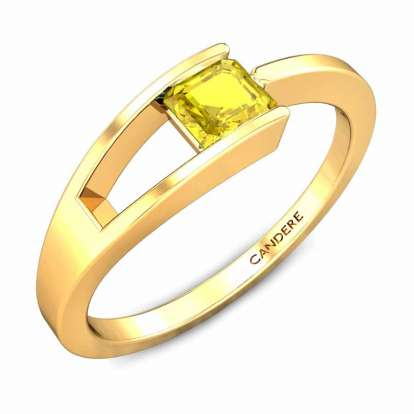 Diona Yellow Sapphire Ring
