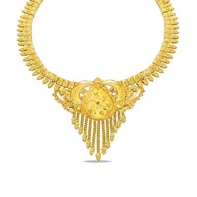Egyptian Goddess Gold Necklace Online Jewellery Shopping India Yellow Gold 22k Candere By Kalyan Jewellers