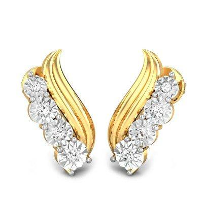 ROCIO MIRACLE PLATE DIAMOND EARRINGS