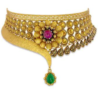 Unni Mudhra Gold Necklace